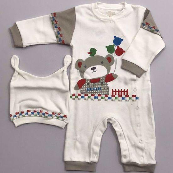 Aziz Bebe Erkek Bebek Tulum 006331. ürün görseli