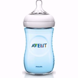 Resim Philips Avent Natural Pp Biberon 260 Ml - Mavi